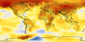 Warming world. Credit: NASA