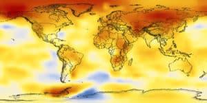 Warming world. Credit: NASA